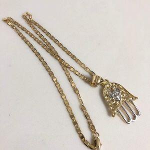 Accessories - Hamsa hand 14K Brazilian gold